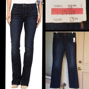 $158 women JOE'S JEAN Honey Curvy Bootcut Tall 32